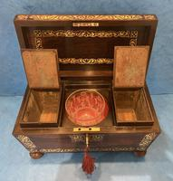 Regency Rosewood Twin Canister Tea Caddy (16 of 23)