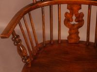 Windsor Rocking Chair in Ash & Elm (4 of 7)
