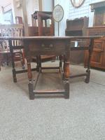 Antique Gateleg Table (4 of 8)