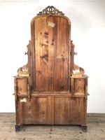 Antique 19th Century Concave Mahogany Dressing Table (21 of 21)