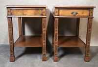 Pair of Burr Walnut End Tables Iain James Fine Furniture (6 of 9)