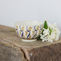 18th Century Caughley Porcelain Fluted Tea Bowl (10 of 10)