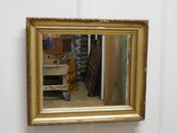 Charming 19th Century French Rectangular Gilt Mirror (6 of 6)