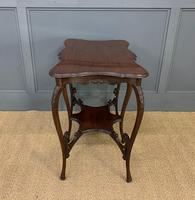 Rococo Style Mahogany Occasional Table (10 of 10)