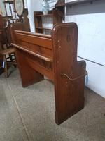 Small Antique Church Pew (5 of 5)
