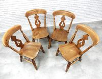Set of 4 Fine Quality Windsor Lyreback Chairs (5 of 7)