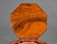 Victorian Inlaid Walnut Needlework Table (8 of 11)