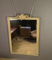 Large painted French chateau style mirror (7 of 8)
