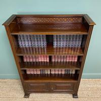 Quality Edwardian Mahogany Antique Bookcase by Waring & Gillow (5 of 8)