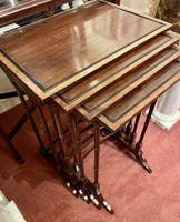 Lovely Edwardian Nest of Quartetto Tables (2 of 6)