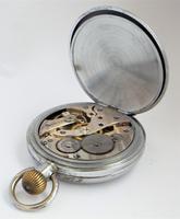 Swiss 1930s Stem Winding Pocket Watch (5 of 6)