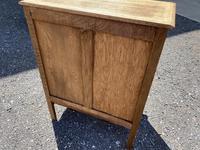 French Bleached Oak Side Cupboard (13 of 16)