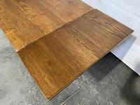 Oak Farmhouse Dining Table with Extensions (4 of 18)