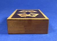1930s Wooden Inlaid Puzzle Card Box (3 of 11)