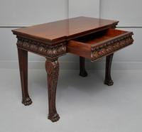 George II Style Mahogany Maple & Co Console Hall Table (7 of 15)