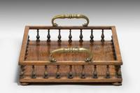 Regency Period Rosewood Book Tray (2 of 3)