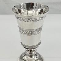 Mid 16th Century Antique Elizabethan Silver Chalice London 1565 Robert Darrant (4 of 7)
