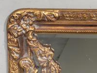 A Very Large Late 19th Century Giltwood Mirror (2 of 4)