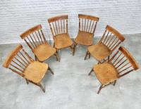 Set of 6 Windsor Kitchen/dining Chairs, Lincolnshire Origins (3 of 6)