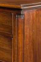 18th Century Mahogany Chest of Drawers with Quarter Column Corners (4 of 5)