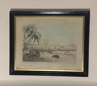 Framed Georgian aquatint after Samuel Howitt (2 of 6)