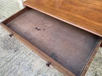 Antique Regency Mahogany Library Table (8 of 14)