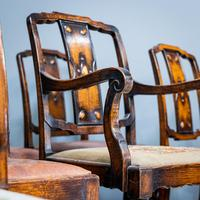 Set of 12 Carver Dining Chairs (8 of 12)