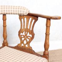 Georgian Corner Elbow Chair Beech (8 of 10)
