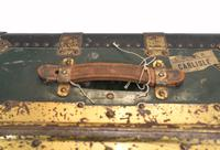 Vintage Steamer Trunk Luggage Case Harrison and  Co New York (6 of 28)