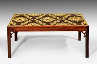 Late 18th Century Custom Built Mahogany Low Table (3 of 5)