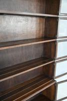 Minty Oak Sectional Glazed Bookcase (9 of 12)