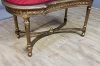 Gilt French Window Seat (3 of 7)