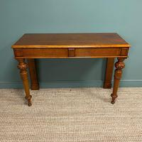 Stunning Victorian Oak Antique Console Table (2 of 7)