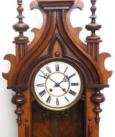 Wow! Antique German Spring Driven Striking 8-day Vienna Wall Clock by Peerless (8 of 12)