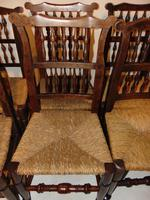Set Of Lancashire Ladder Back Dining Chairs (4 of 7)