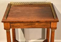 French Regency Rosewood Side Table (6 of 6)