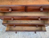 Antique Mahogany Chest of Drawers on Bracket Feet (7 of 12)