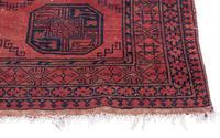 """Vintage / Retro Wool Rug Roughly 6'8"""" x 4'4"""" (4 of 7)"""