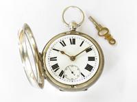 Antique Silver Ehrhardt Pocket Watch, 1919 (3 of 6)