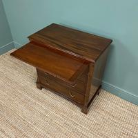 Unusual Small Edwardian Mahogany Antique Bachelors Chest (7 of 7)