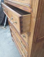 Tall French Cherry Chest of Drawers (3 of 4)