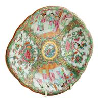 Chinese Canton Famille Rose Dish (4 of 4)