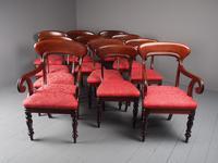 Set of 12 Scottish Mahogany Dining Chairs (16 of 18)
