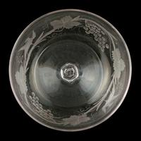Fine Pair of Engraved Champagne Glasses (8 of 8)
