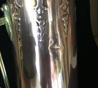 Large  Jugendstil /Secessionist  Copper and Brass Jug. (5 of 5)
