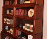 Pair of Globe Wernicke Mahogany Bookcases - 6 Elements (7 of 10)