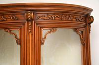 Antique Italian Walnut Display Cabinet (9 of 11)