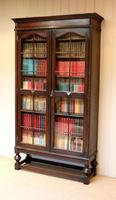 Tall Oak Glazed Bookcase (2 of 10)