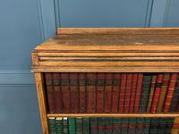 Oak Open Bookcase c.1920 (4 of 12)