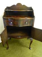 Mahogany Bedside Cabinet / Cupboard (5 of 6)